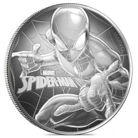 1 oz silver NIUE 2017 SPIDERMAN