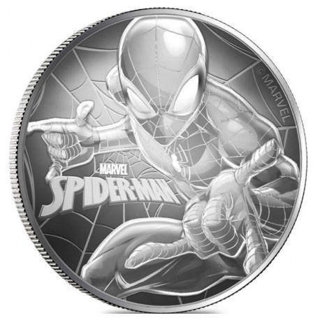 1 oz silver NIUE 2017 SPIDERMAN