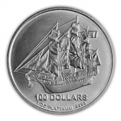 1 oz PLATINIUM PLATINUM COOK ISLANDS $100 Bounty
