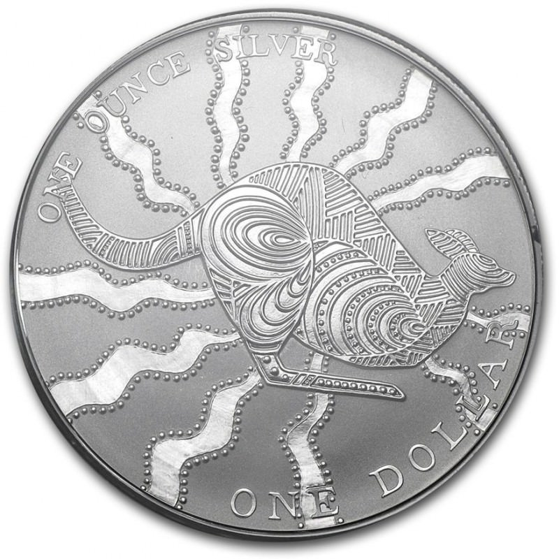1 Oz Silver 1 Kangaroo 2002 Goldsilver Be
