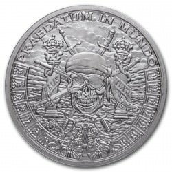 1 troy oz silver Pieces of Eight