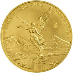 1 oz gold LIBERTAD 2017