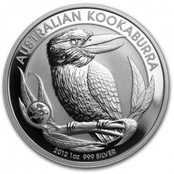 1 oz silver KOOKABURRA 2012 Privy Dragon
