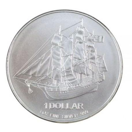 1 oz silver COOK ISLANDS 2010