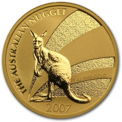 1 oz gold NUGGET 2007 KANGAROO
