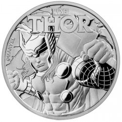 1 oz silver TUVALU 2018 MARVEL series THOR