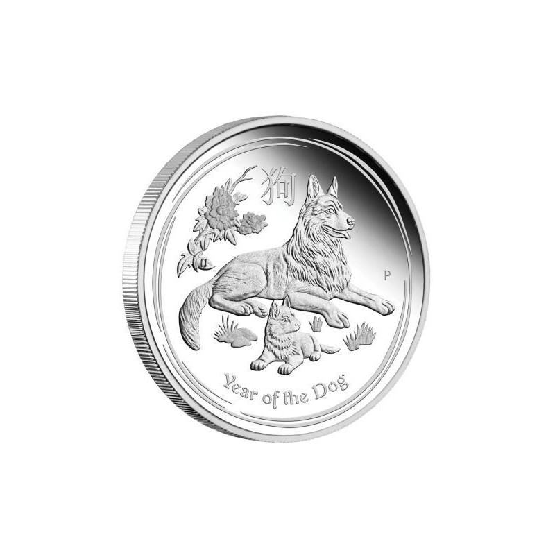 Australian Lunar Silver Coin Series 2018 Year Of The Dog