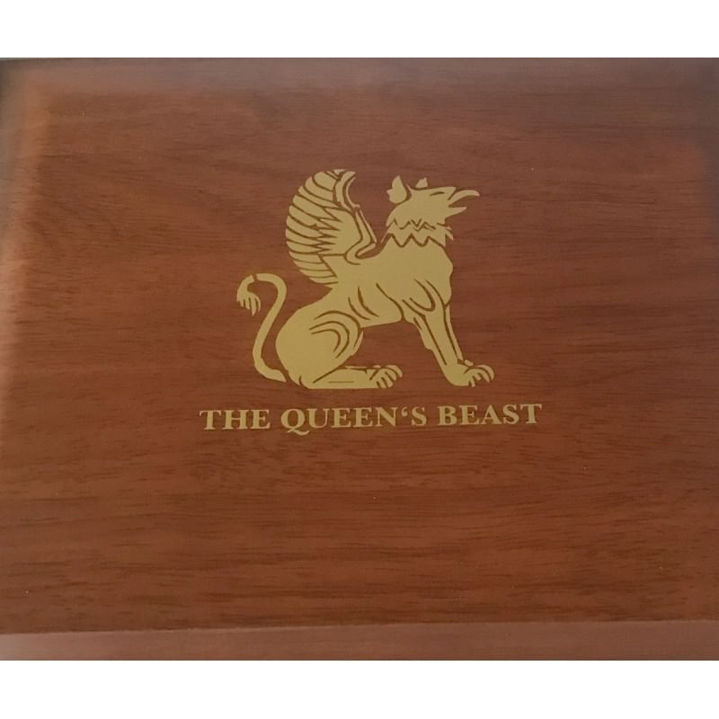 1 Oz Gold Queen S Beast Series Case Hq Goldsilver Be