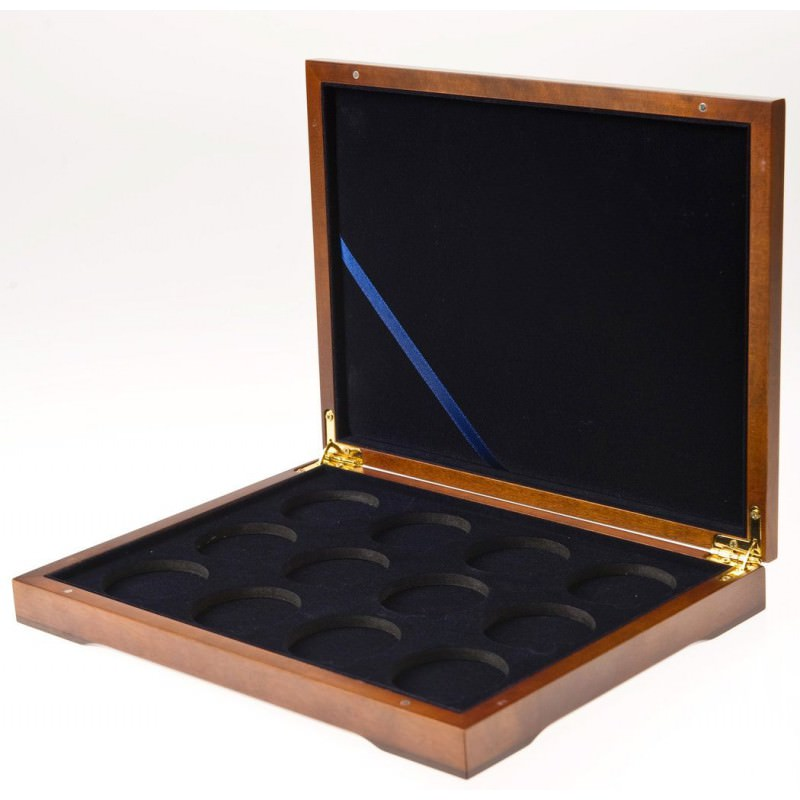 Lunar 2 1 Oz Gold Coins Wooden Hq Case 12 Coins