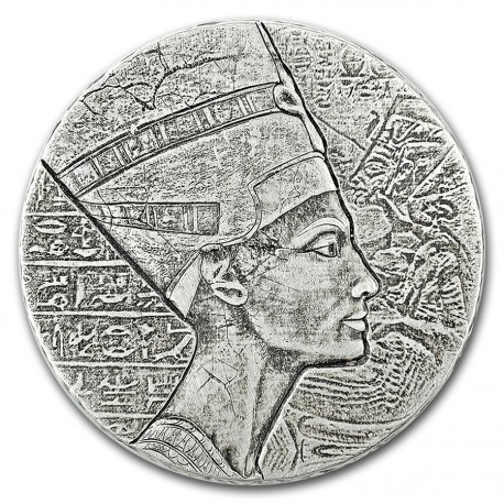 Chad 5 oz silver NEFERTITI 2017