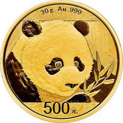 Goud CHINA PANDA 30 GR 2017