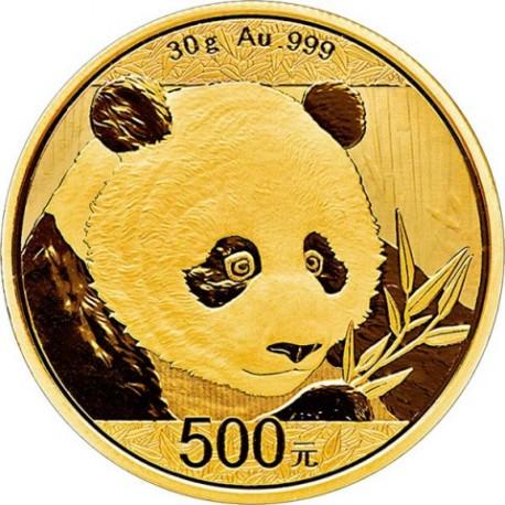 Gold China Panda 30 Gr 2018 Goldsilver Be