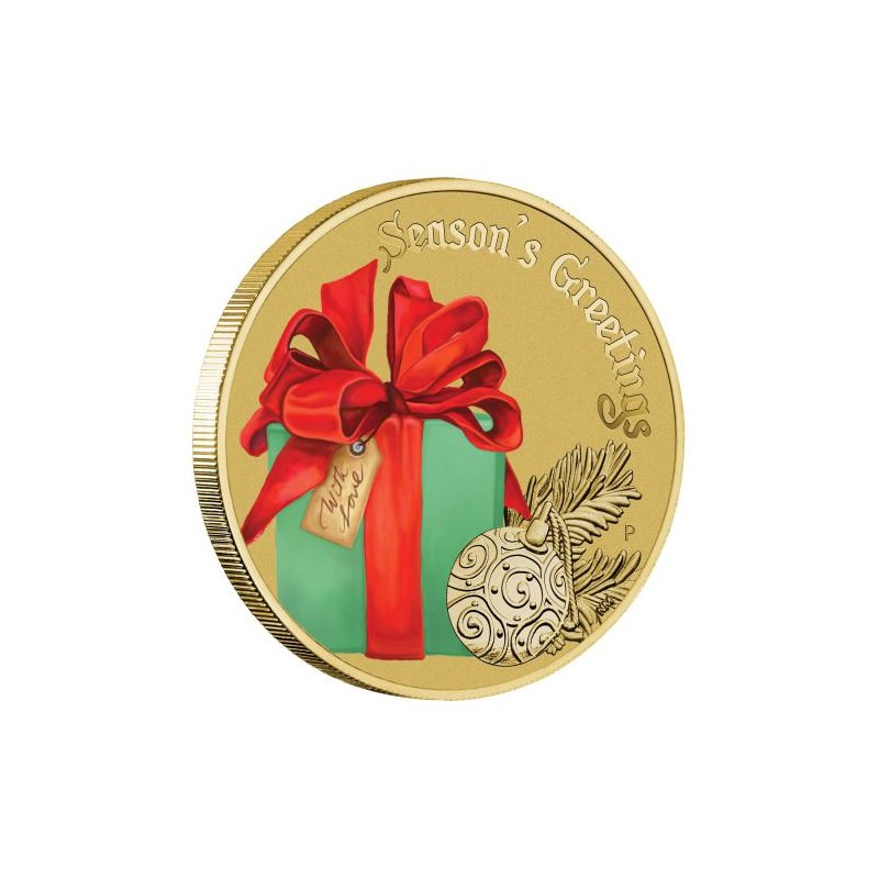 Christmas 2017 Stamp Amp Coin Cover No 235 L Goldsilver Be