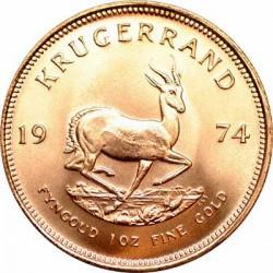 1 oz gold KRUGERRAND 1974
