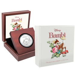 Bambi 75th Anniversary 2017 1oz Silver Proof Coin