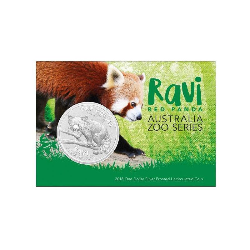 1 Oz Silver Ravi Red Panda 2018 Goldsilver Be