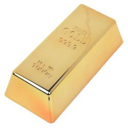 Replica Gold Bullion - Paper Weigth - Bar Doorstop