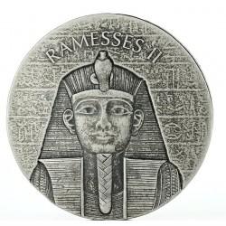 Chad 2 oz silver RAMSES II 2017