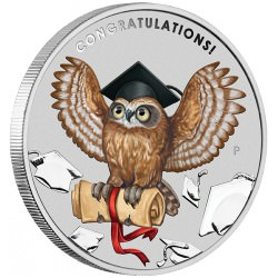 Graduation 2018 1oz Silver Coin Diploma