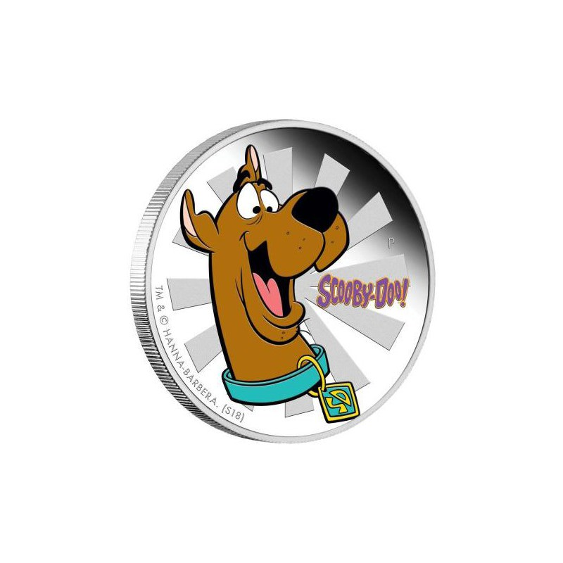 Scooby Doo 2018 1oz Silver Proof Coin Goldsilver Be