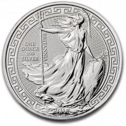 1 oz silver BRITANNIA 2018 oriental border