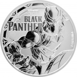1 oz silver TUVALU 2017 MARVEL SPIDERMAN