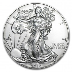 1 oz silver US EAGLE 2017