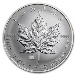 1 oz silver MAPLE LEAF 2009 Brandenburger