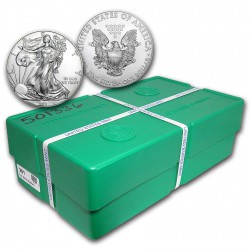 MONSTER BOX 500 x 1 oz US Eagle 2017 Mint sealed