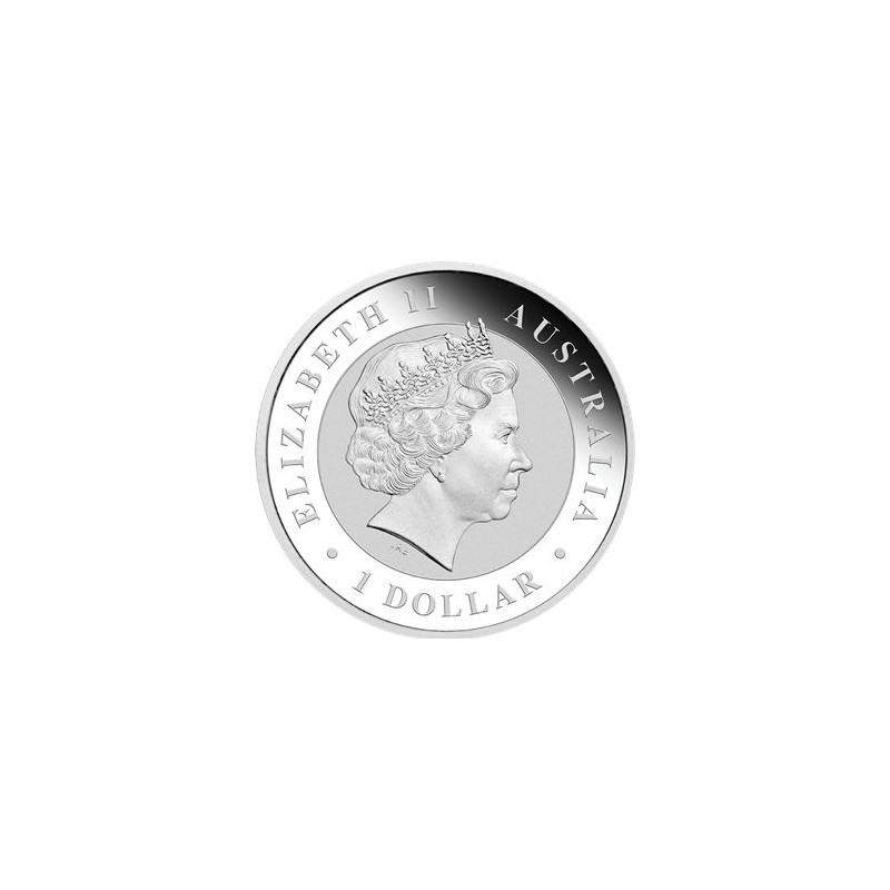 Perth Mint 1 Oz Silver Emu 2018 Goldsilver Be
