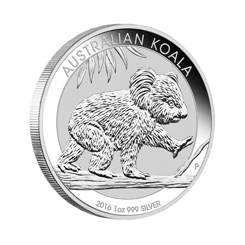 1 Oz Argent Koala 2016 Goldsilver Be