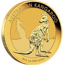 1 oz GOLD NUGGET 2016 $100