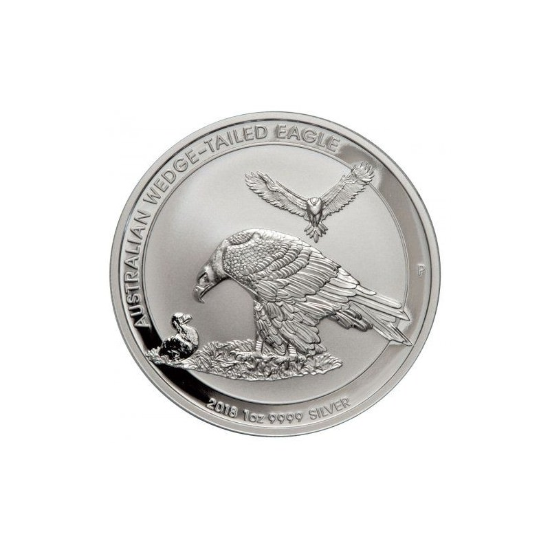 1 Oz Silver Perth Mint 1 Wedge Tailed Eagle 2018