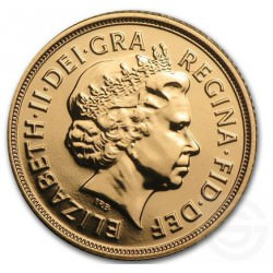 FULL GOLD SOVEREIGN 2012