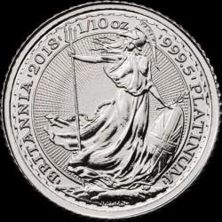 1/10 oz platinum BRITANNIA 2018