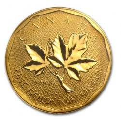 GOLD .99999 Maple Leaf 1 oz 2008