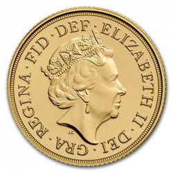 FULL GOLD SOVEREIGN 2016