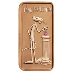 Pink Panther 2018 1oz Pink Gold Diamond Ingot