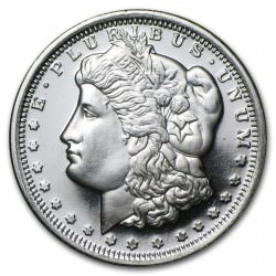 1/2 troy oz silver Morgan Dollar