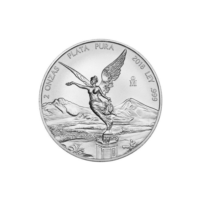 Mexico 2 Oz Silver Libertad 2018 Goldsilver Be