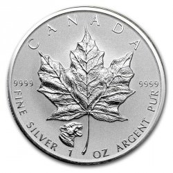 1oz silver Maple leaf 2017 privy Cougar $5