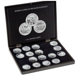 SOMALIA ELEPHANT CASE for 1 oz silver coins --