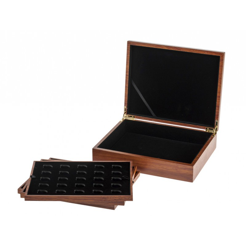 Hq Wooden Collector Box For Krugerrand Coins Goldsilver Be
