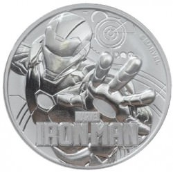 Perth Mint 1 oz silver 2018 MARVEL IRON MAN $1