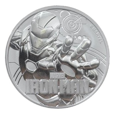 Perth Mint 1 oz silver 2018 IRON MAN $1