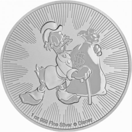 1 oz silver STEAMBOAT WILLIE 2017 MICKEY MOUSE