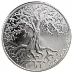 1 oz silver Niue TREE OF LIFE 2018 $2 ARBRE DE VIE