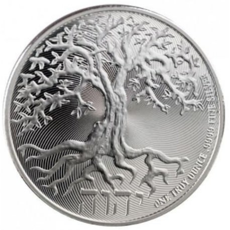 2019 tree of life silver coin