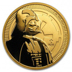1 oz gold Niue Stars Wars 2017 $250 DARTH VADER