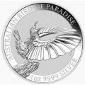 1 oz silver Bird of Paradise Victoria's Riflebird 2018
